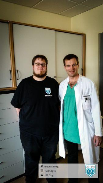 Besprechung im HEH Herzogin Elisabeth Hospital mit Dr. med. Hinrich Köhler