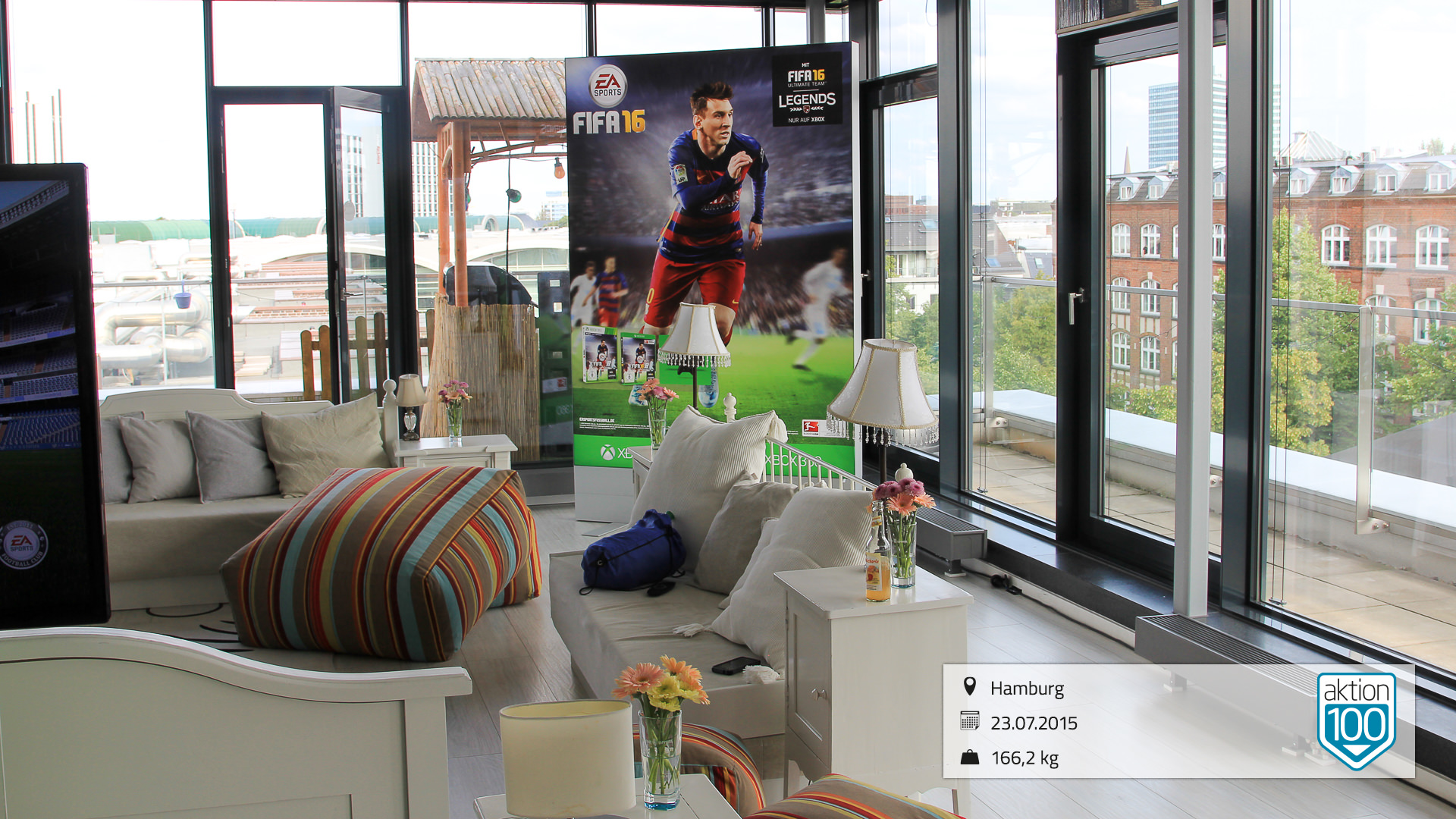 EA Sports FIFA 16 Players First Tour in Hamburg Sturmfreie Bude