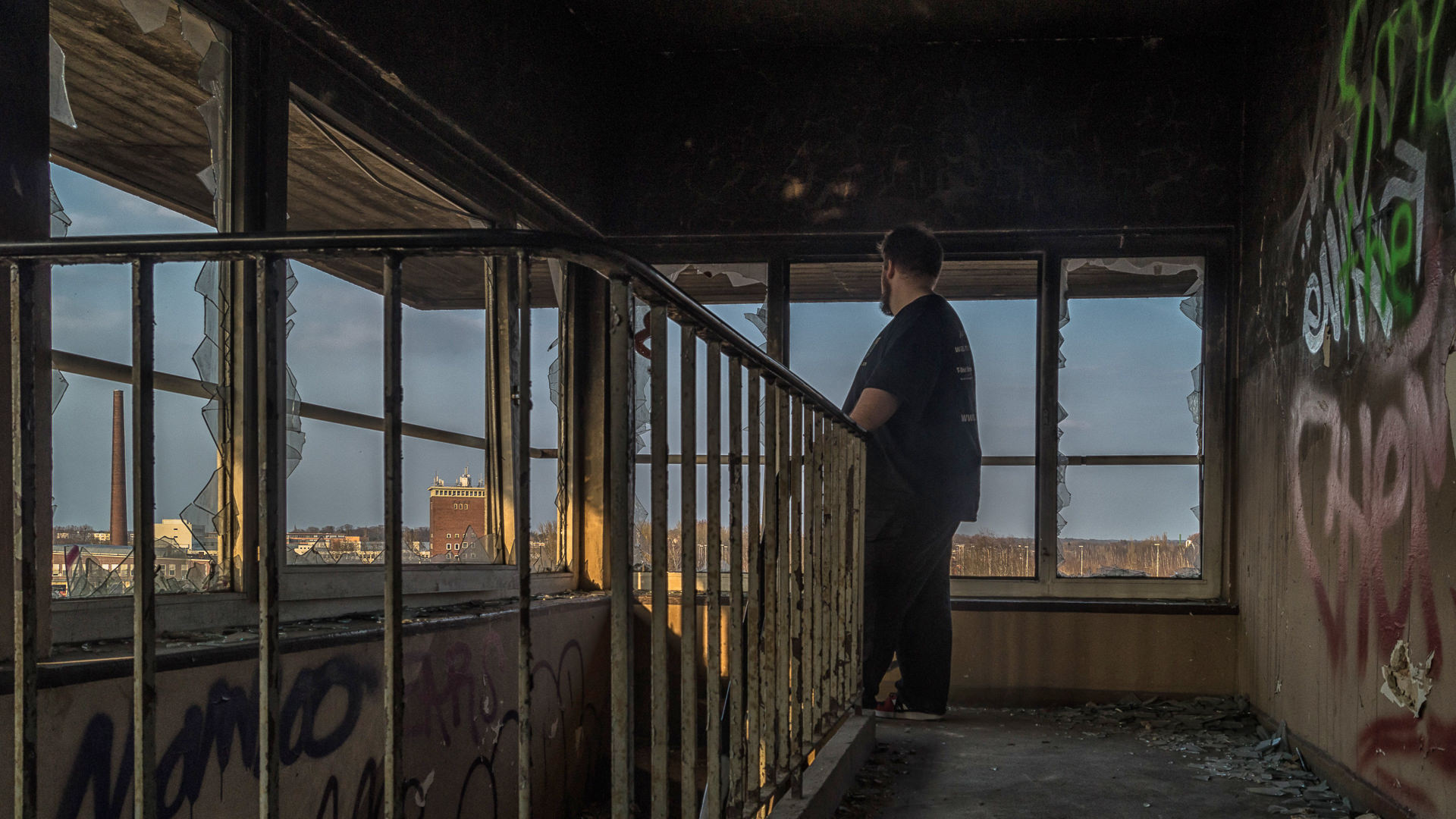Shooting Lost Place mit Thorsten Borchers 10.04.2015