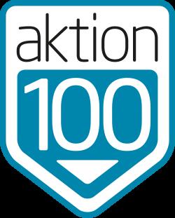 aktion100.de Logo Wartungsmodus