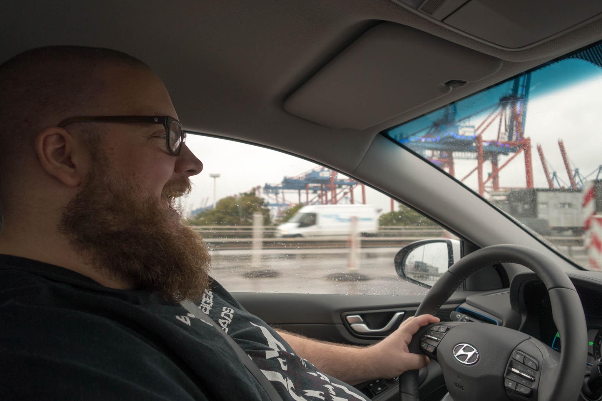 Vogt, der verrückte Autofahrer