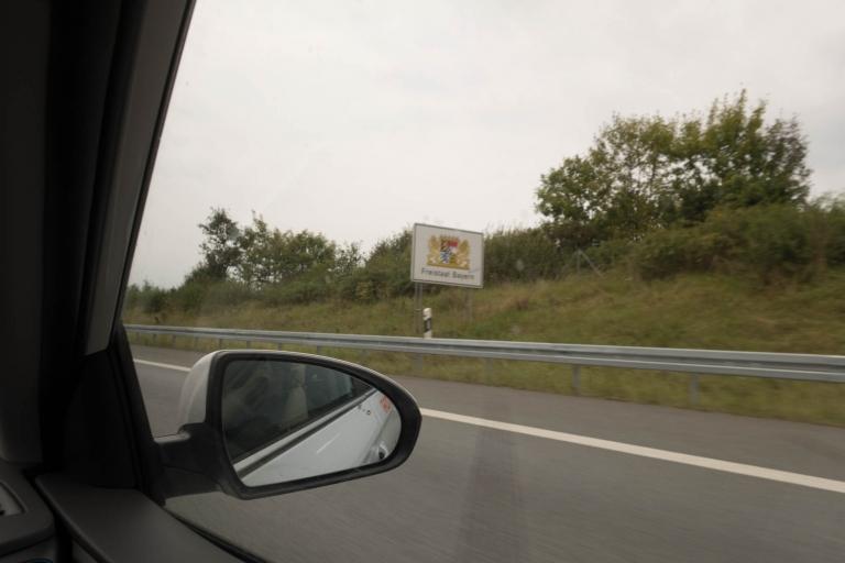 """Schild """"Freistaat Bayern"""""""