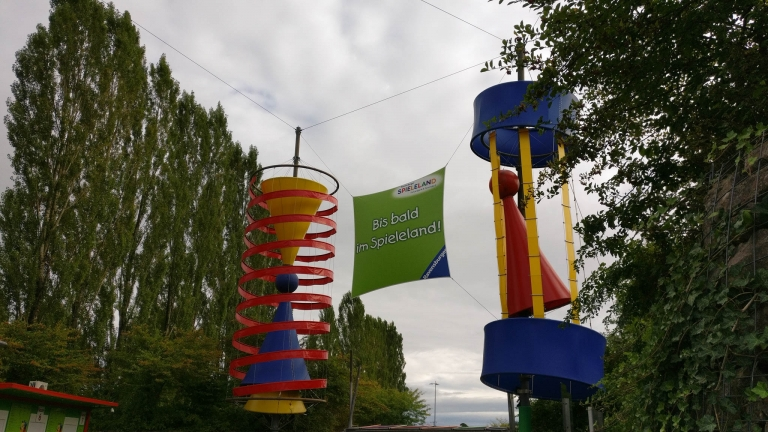 Ausgang des Ravensburger Spieleland