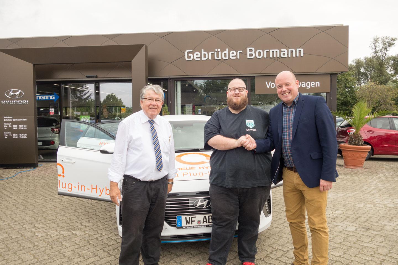 Kooperation Autohaus Gebrüder Bormann (Jürgen Mundrziewski, Christian Vogt, Holger Bormann) September 2017