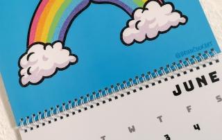 Kalender Butts on Things Brian Cook - Gewichtsupdate Juni 2021