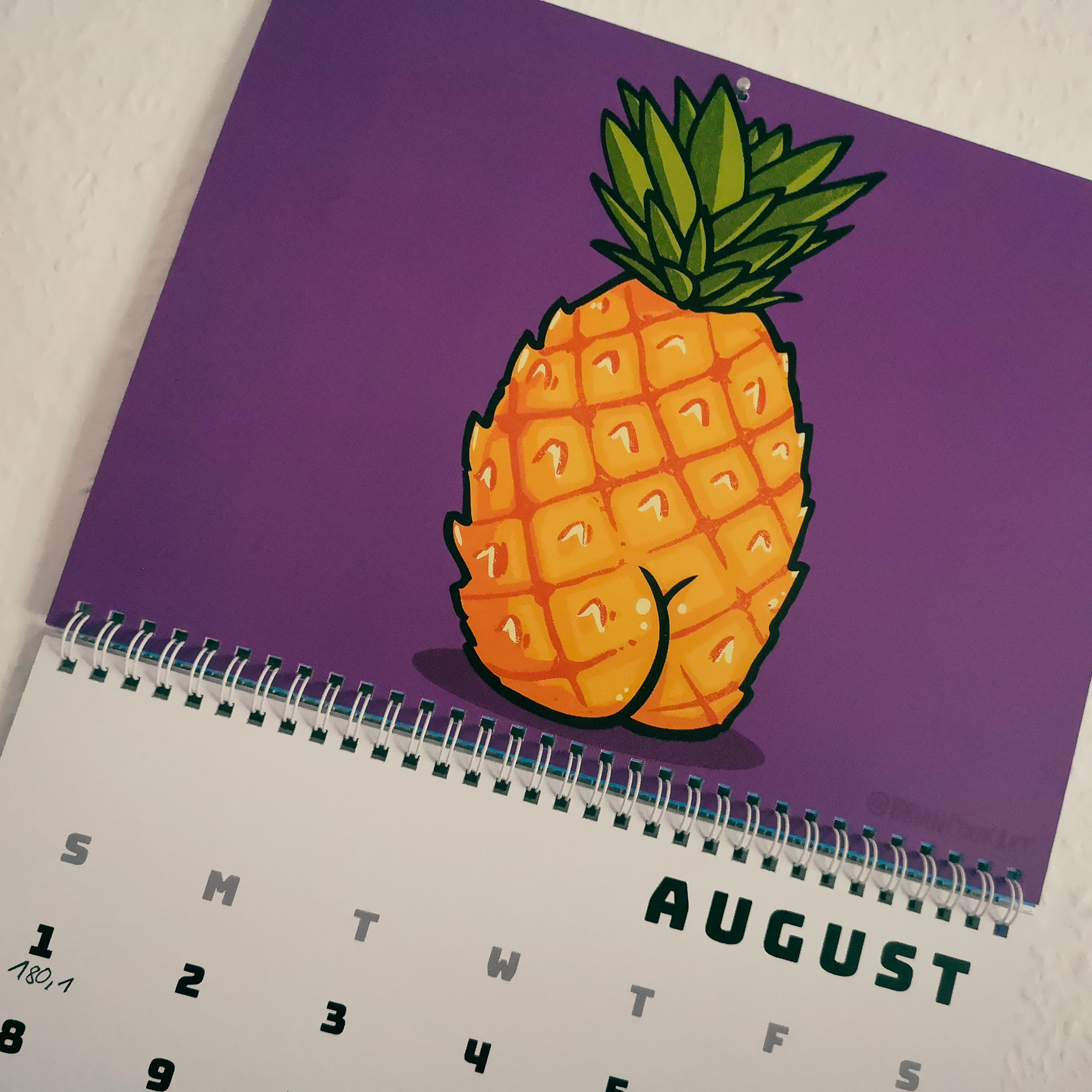 Kalender Butts on Things Brian Cook - Gewichtsupdate August 2021