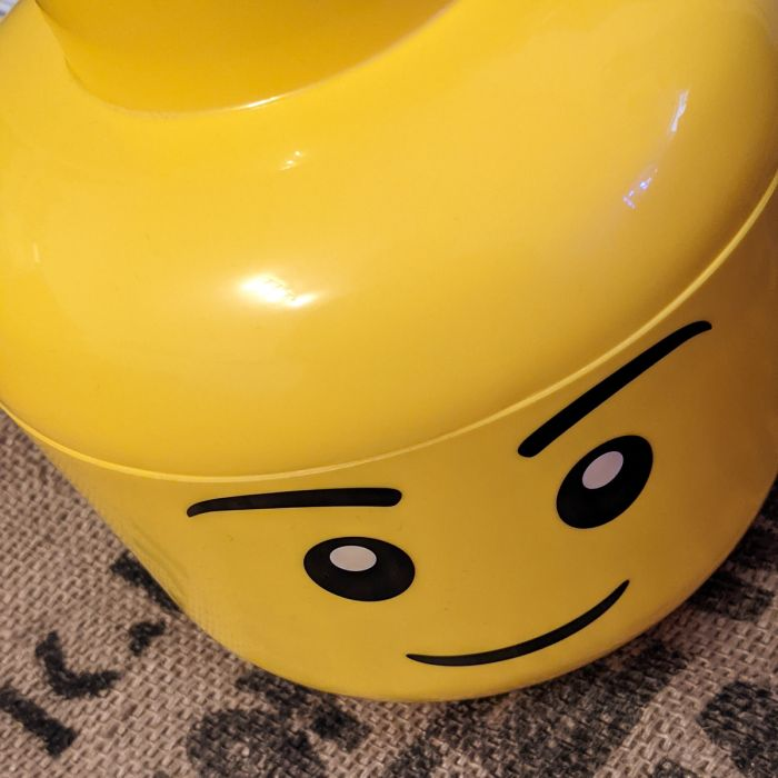 LEGO Jungenkopf - Große Aufbewahrungsbox