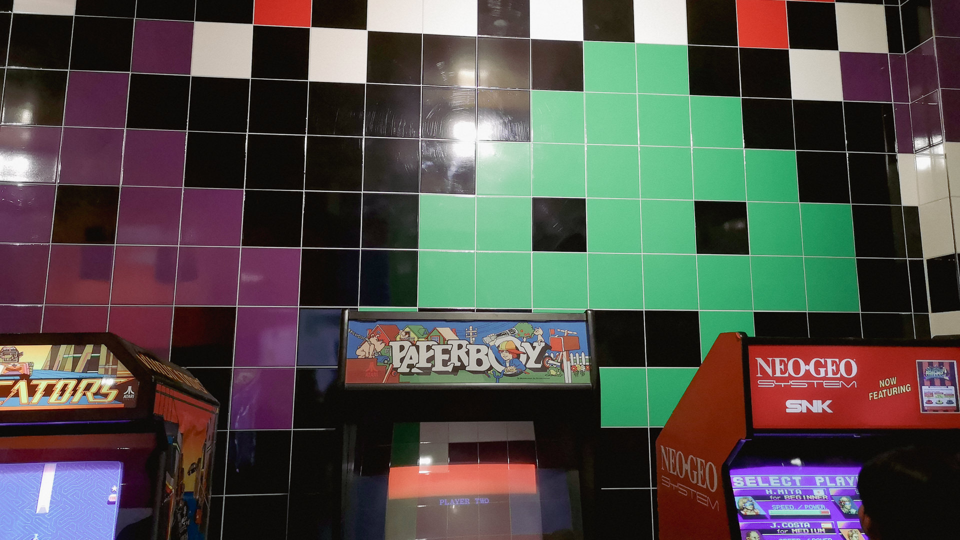 Pixelgrafik Computerspielemuseum Berlin