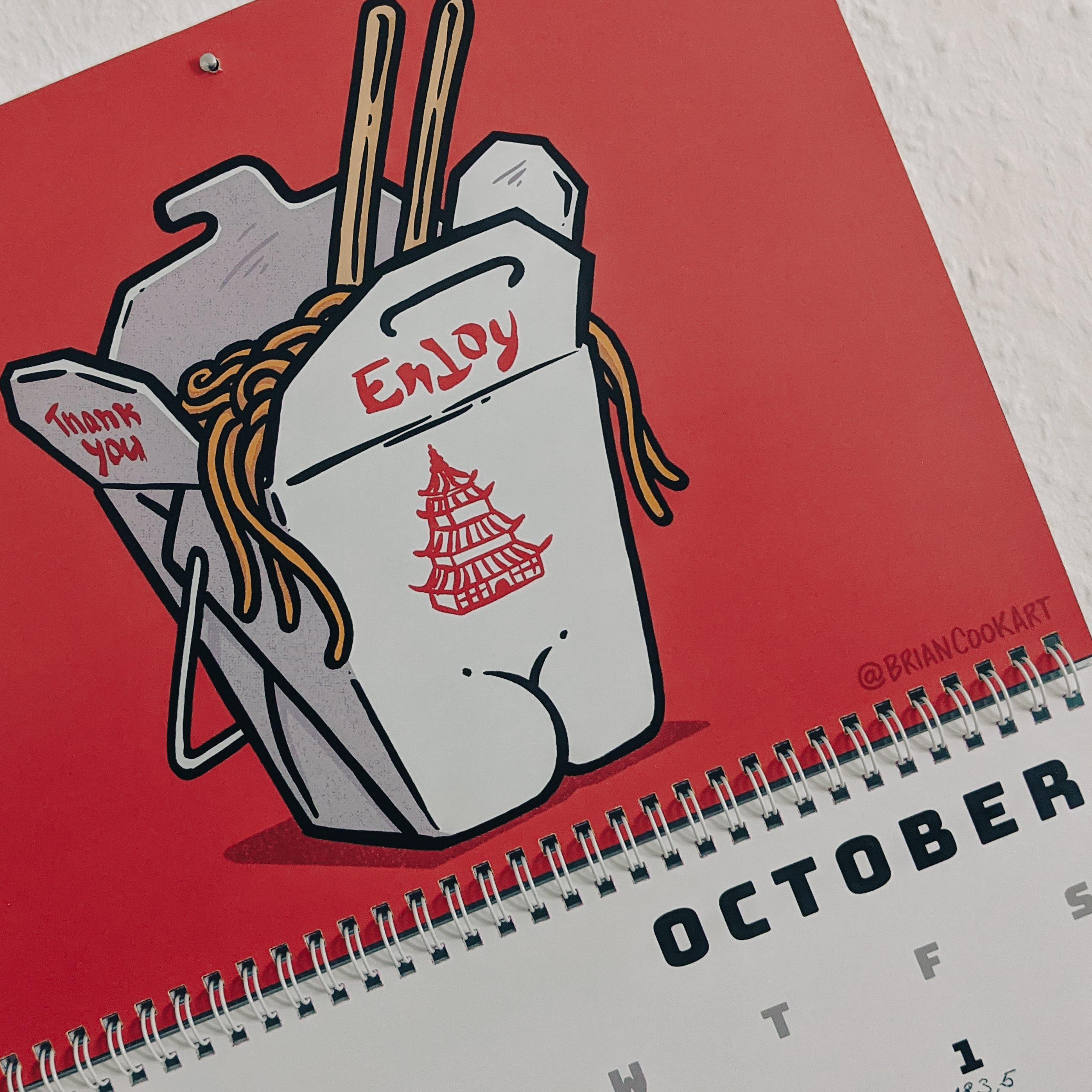 Kalender Butts on Things Brian Cook - Gewichtsupdate Oktober 2021